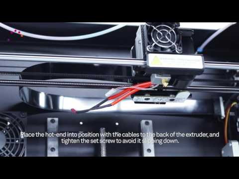 Changing the PTFE tube on your Witbox 2