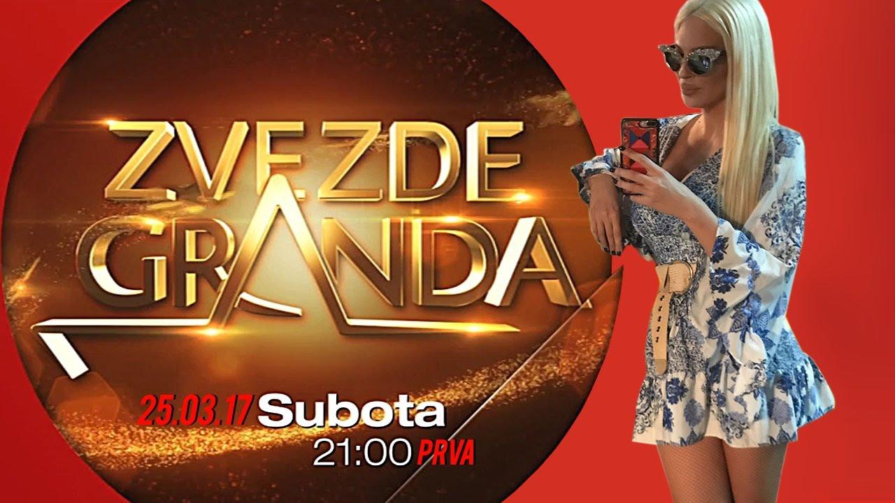 ZVEZDE GRANDA 2017 – dvadeset sedma emisija – 25. 03. – najava