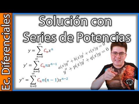 Ecuaciones Diferenciales por Series de Potencias y Radio de Convergencia - Explicación y Ejemplos