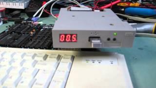 Gotek USB floppy emulator with HxC firmware and sound mod