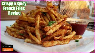 Crispy n Spicy French Fries Recipe - Homemade French Fries Recipe by CookingwithAsifa - yt - vid-166