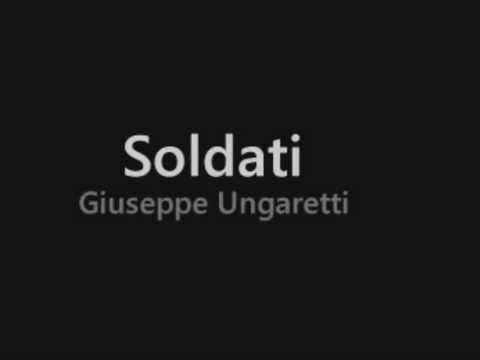 Giuseppe Ungaretti youtube