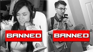 Video 10 BANNED Twitch Streamers Who Took It WAY Too Far MP3, 3GP, MP4, WEBM, AVI, FLV Maret 2018