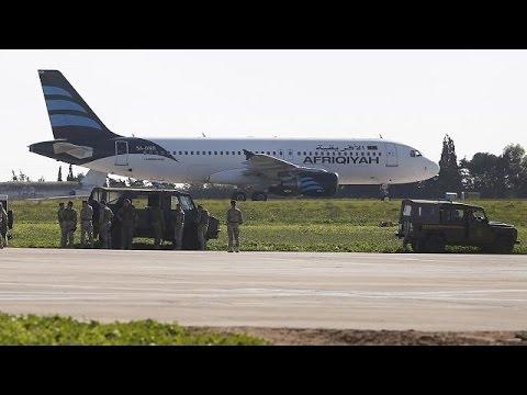 Un avion libyen détourné sur l'île de Malte