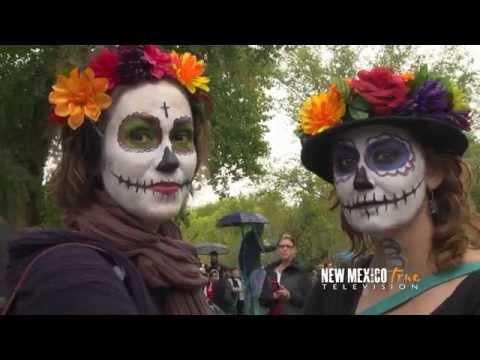 NM True TV - Dia de los Muertos Marigold Parade