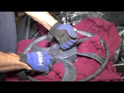 Ford Crown Victoria radiator fan motor replacement 06-11