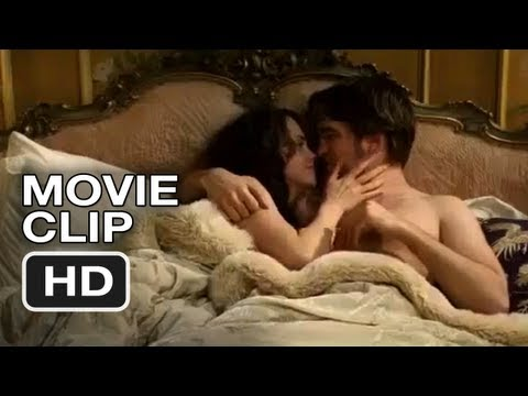 Belami - Subscribe to TRAILERS: http://bit.ly/sxaw6h Subscribe to COMING SOON: http://bit.ly/H2vZUn Bel Ami Movie CLIP #1 (2012) - Lying in Bed - Robert Pattinson - H...