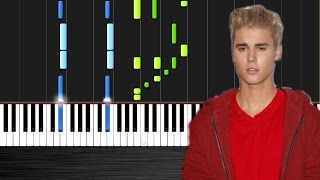 ustin Bieber - Love Yourself - Piano Cover/Tutorial