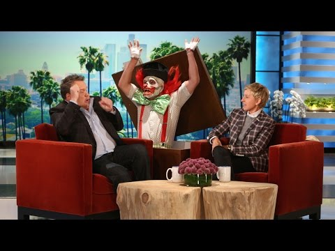 The Ellen Show - Her Eric Stonestreet scares have become notorious. It's no wonder the