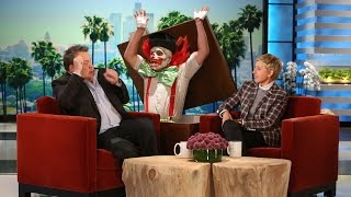 Ellen Scared Eric Stonestreet Even Better! - YouTube