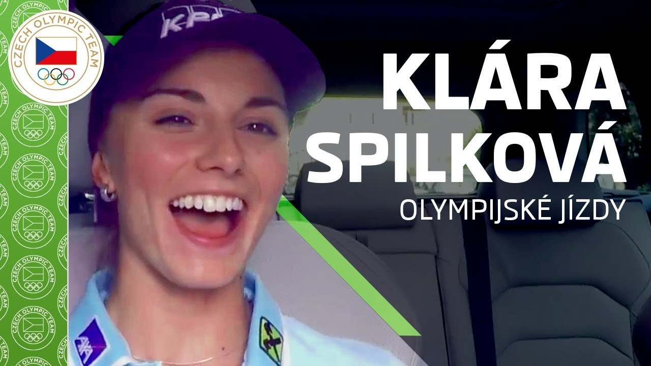 ŠKODA olympijské jízdy s Klárou Spilkovou