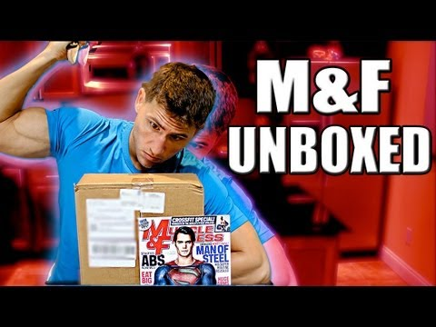 Muscle and Fitness Supplement Sample Unboxing