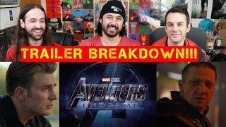 AVENGERS 4: ENDGAME - TRAILER BREAKDOWN!!! by The Reel Rejects