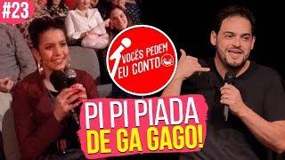 Piadas engraçadas - PIADA DE GAGO - VOCÊS PEDEM EU CONTO. BRAGANÇA PAULISTA #23