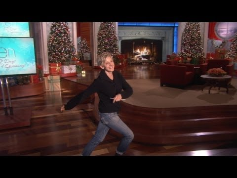 gets - Sometimes the rhythm is gonna get ya, and it got Ellen bad in rehearsal. We thought you might want to see the clip!