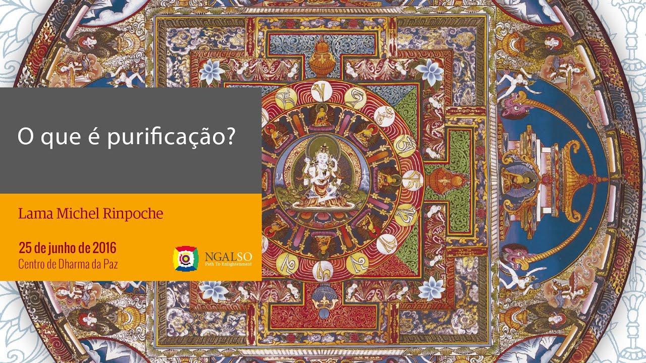 O que é purificação e Puja de Fogo de Vajradaka