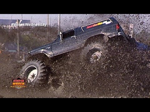 Muddy Monster Truck Rolls in the Mud - WW #17