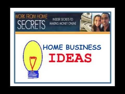 Looking For Work At Home Business Ideas?