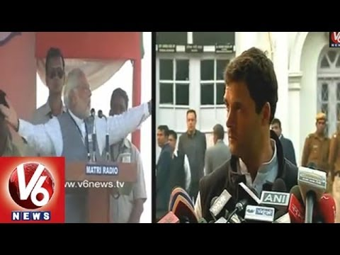 The Big Guns Battle  Modi vs Rahul Gandhi Counter Attacks