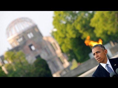 Στη Χιροσίμα ο Ομπάμα -Έκκληση για ένα κόσμο χωρίς πυρηνικά