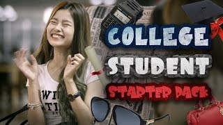 Video How To Survive College (College Student Starter Pack) - JinnyboyTV MP3, 3GP, MP4, WEBM, AVI, FLV Desember 2018
