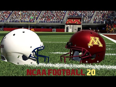 NCAA Football 20   College Football   Penn State Vs Minnesota 2019   Madden 20