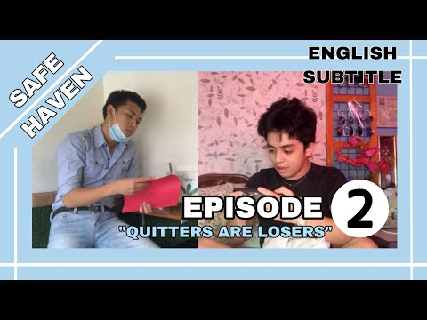 """[English/ Brazilian Portuguese Sub] Safe Haven The Series Episode 2: """"Quitters Are Losers"""""""