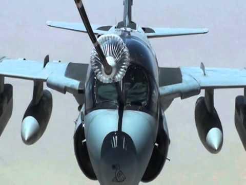 U.S. Navy EA-6B Prowler Aerial...