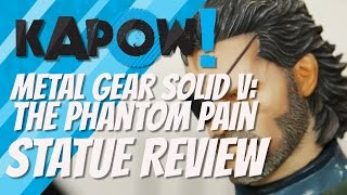 Metal Gear Solid 5: The Phantom Pain Statue Review
