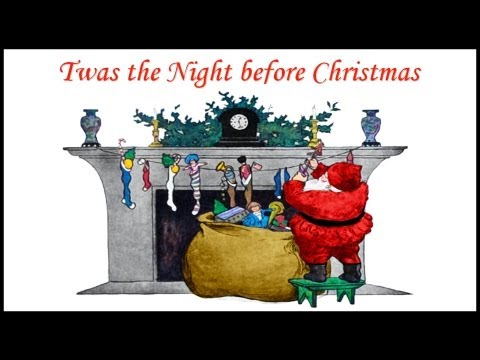 TWAS THE NIGHT BEFORE CHRISTMAS Poem