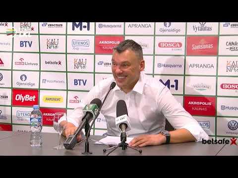 """""""Betsafe–LKL"""" rungtynių komentarai: """"Žalgiris"""" - """"Juventus"""" [2018-12-23]"""