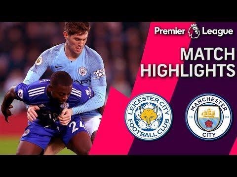 Video: Leicester City v. Man City | PREMIER LEAGUE MATCH HIGHLIGHTS | 12/26/2018 | NBC Sports