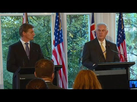 Press Availability With New Zealand Prime Minister Bill English