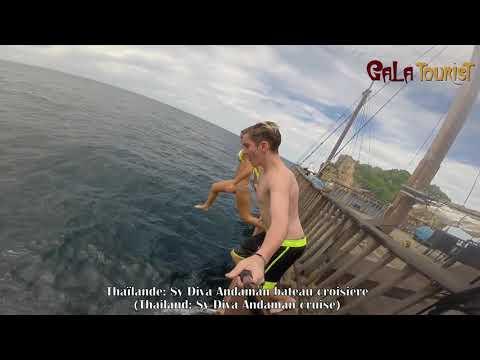 Sy Diva Andaman bateau croisière Thaïlande (Sy Diva Andaman boat cruise - Galatourist)