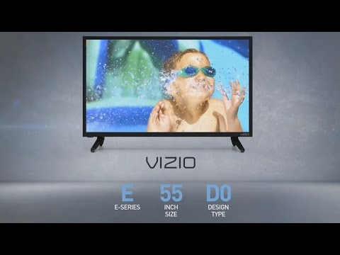 All-New 2016 VIZIO E55-D0 SmartCast™  E-Series 55