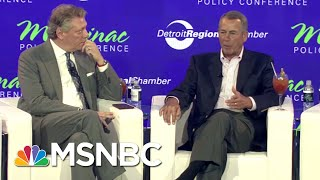 John Boehner: 'There Is No Republican Party. There's A Donald Trump Party.' | The 11th Hour | MSNBC