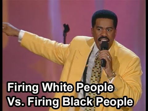 Steve Harvey | Firing White People Vs. Firing Black People | Stand-Up Comedy