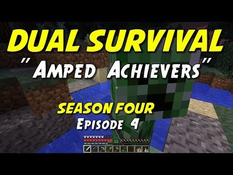 dual - Ironman co-op survival challenge with my son, JumboMuffin, on an amplified world! Our goal is to survive and collect as many achievements as we can until one...