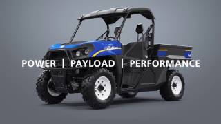 1. Introducing: New Holland Rustler 850 UTV