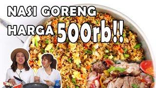 Video NASI GORENG SAMPAH HARGA 500rb!! ISINYA DAGING ASAP 1KG MP3, 3GP, MP4, WEBM, AVI, FLV Mei 2019