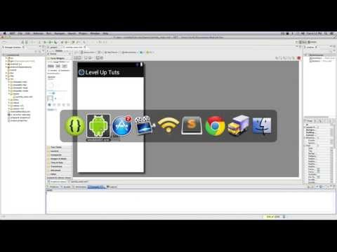 Android Development Tutorials #4 - Adding Items With the Graphical Layout Editor