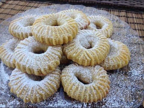 Semolina Cinnamon-Date Cookies (Ka'ik) (видео)