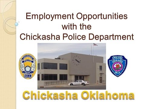 Chickasha Police Department- Employment Opportunities