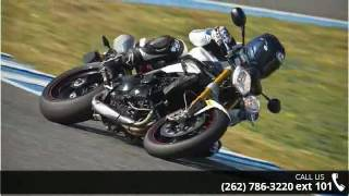 7. 2013 Triumph Speed Triple R ABS Roadster - Don & Roy's Mo...