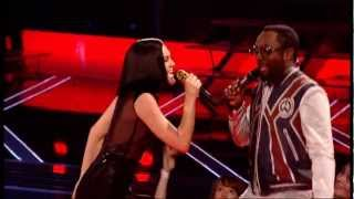 The Voice UK Final Show - Jessie Jay, Danny O'Donoghue, Tom Jones, Will iam sing together