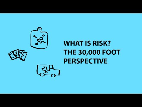 risk - http://www.youtube.com/riskbites It may seem like an odd question to ask, but what exactly do we mean when we talk about risk? This is the big overview of th...