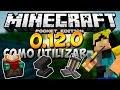 Minecraft PE 0.15.1: COMO UTILIZAR La Mesa De Encantamientos, El Yunque y Las Pociones