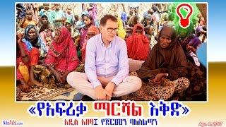አዲስ አበባ፤ የጀርመን ባለስልጣን «የአፍሪቃ ማርሻል እቅድ» - German help to Africa, Ethiopia - DW