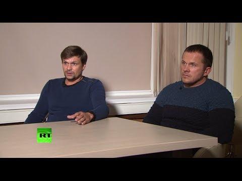 Без монтажа: исходник интервью Маргариты Симоньян с «подозреваемыми» в отравлении Скрипалей онлайн видео