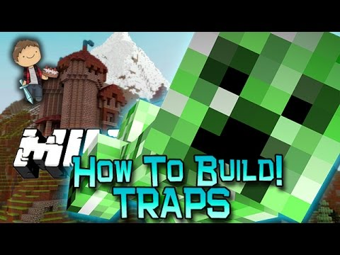 How To Build Traps In Minecraft! w/Bajan Canadian, Woofless, and Nooch!